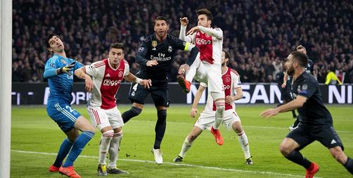 Ajax Amsterdam Vs Real Madrid