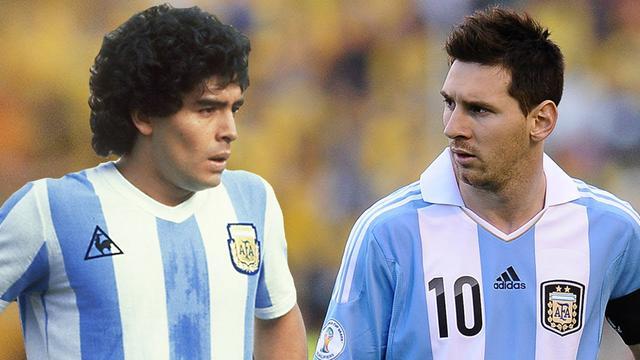 Hector Enrique Menilai Messi Tidak Bisa Selevel Maradona